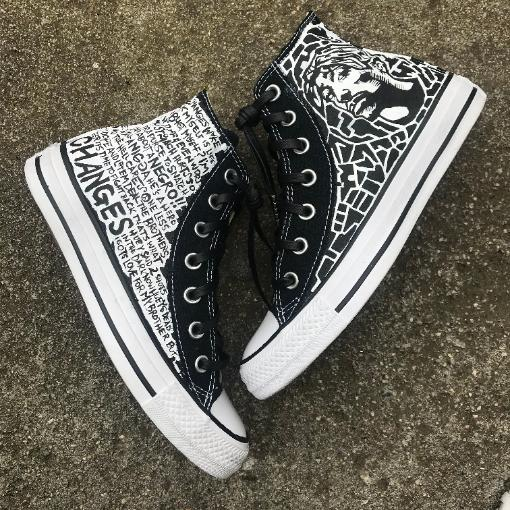 Cheap Design Changes That Have: TUPAC CHANGES CONVERSE CUSTOM