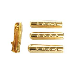 Metal Lace Tip Gold