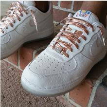 luxury leather laces